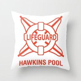 Lifeguard Of Hawkins Pool Vol.1 Throw Pillow