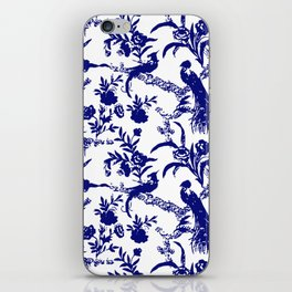 Royal french navy peacock iPhone Skin