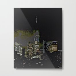 FOG OVER THE FREEDOM TOWER Metal Print