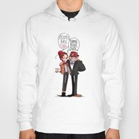 fez Hoodies featuring Fez Bros by M-chi