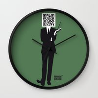 suit Wall Clocks featuring Suit by Random6ix