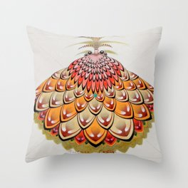 angel butterfly Throw Pillow