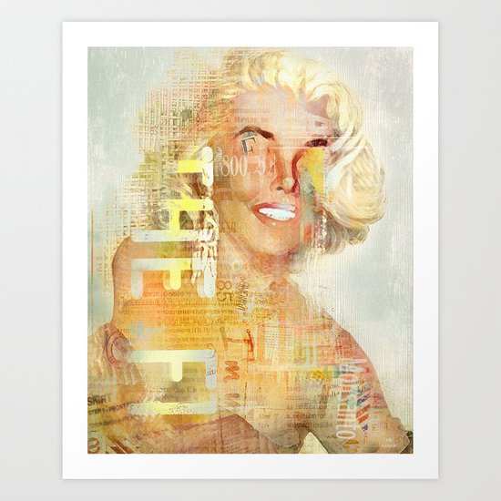 Destructuration #4 Art Print