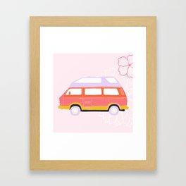 Willa - Van Life Series Framed Art Print