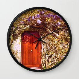 Irish Door Wall Clock