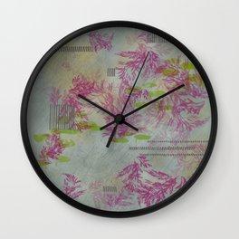 Geometrically Lined Wall Clock