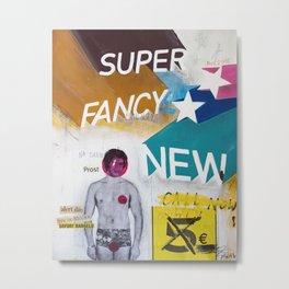 Super fancy new Metal Print