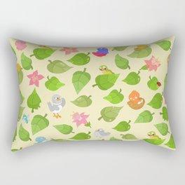 birds&leaves Rectangular Pillow