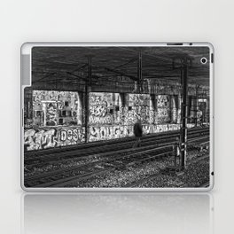 Alone on the rails Laptop & iPad Skin