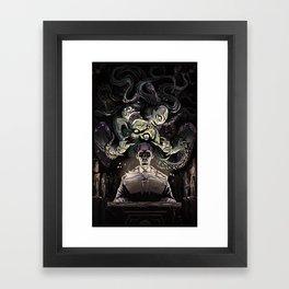 The Summoner Framed Art Print