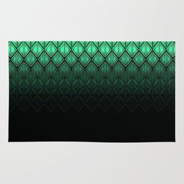 Future Scales Green Rug
