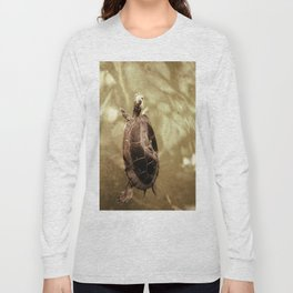 Swiming Long Sleeve T-shirt