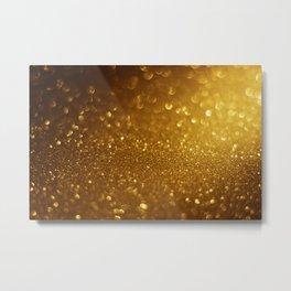 Glitter Bokeh Texture 7 Metal Print