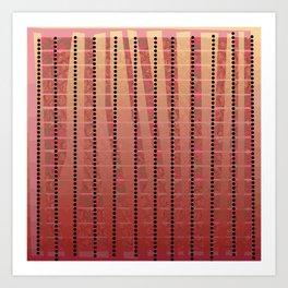Lines S17 Art Print