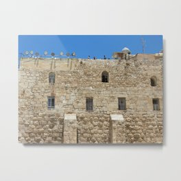 Holy Wall Metal Print