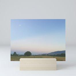 Pastel Summer Sky Mini Art Print
