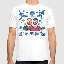 Beard Boy: Couple of Men - Karl & Daan T-shirt