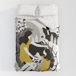 Last Dance Before Bed Time Duvet Cover