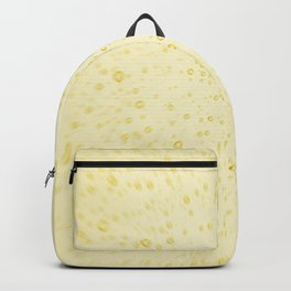 Soft Golden Yellow Champagne Wedding Fizzy Bubbles Backpack
