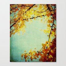 Gingko Branches Canvas Print