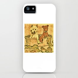 Dogs Large and Small, Ideal for Dog Lovers (21) iPhone Case