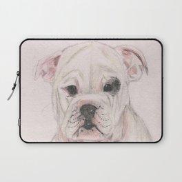 Bulldog humour Laptop Sleeve