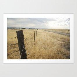Merced, CA Art Print