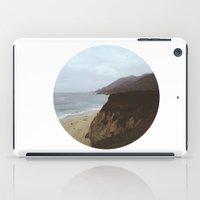 big sur iPad Cases featuring Big Sur by mzsphoto