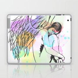 Watercolour Sleeping Angel Laptop & iPad Skin