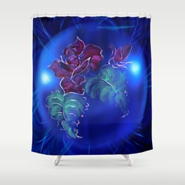 Abstract in perfection - Fertile Imagination Rose 2 Shower Curtain