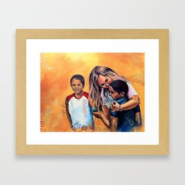 But the Greatest of These is Love Framed Art Print