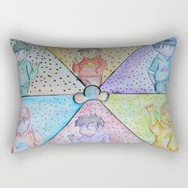 Osomatsu-San Pop Art Rectangular Pillow