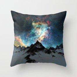 NORTHERN LIGHT ALASKA Throw Pillow