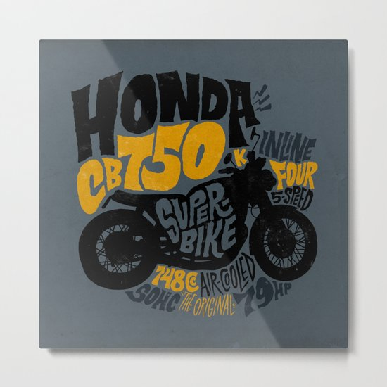 CB750 Metal Print