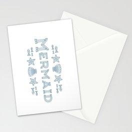 Glass Mermaid Stationery Cards