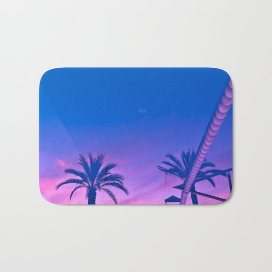 Sunset Reverberation Bath Mat