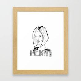 Leigh  Framed Art Print