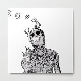 Wiz Metal Print