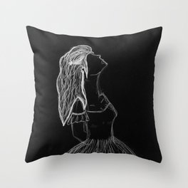 Child of the Universe Throw Pillow