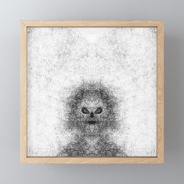 Dark Framed Mini Art Print