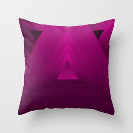 Trianghouls Throw Pillow