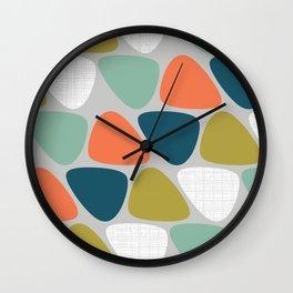 MCM Lozenge Wall Clock