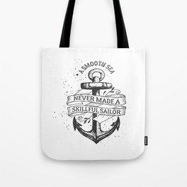 A smooth sea Tote Bag