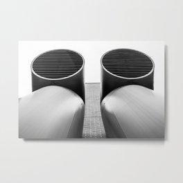 Air - Duct - Pipe Metal Print