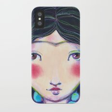 YOUNG FRIDA WITH NECKLACE iPhone X Slim Case