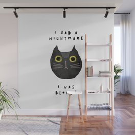 Blonde cat / poster, cat, art print, pictures, scandinavian, nursery, deco, family, art, animal, cat Wall Mural