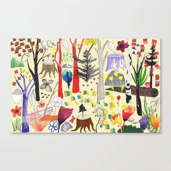 Magical Wood Canvas Print