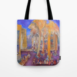New College Palm Court Party Tote Bag