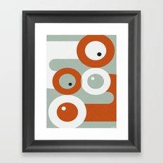 NUDGE Framed Art Print