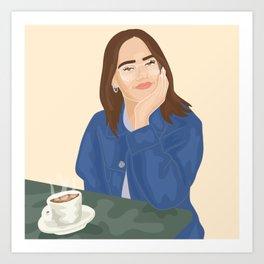 @madeleinlouise Art Print